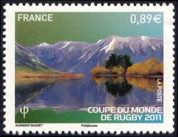 Coupe du monde de Rugby 2011, Parc national d'Arthur's Pass