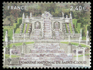 Jardins de France, Domaine National de Saint-Cloud, La grande cascade (1665)