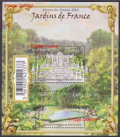 Jardins de France, Domaine National de Saint-Cloud