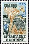timbre N° 1920, Champagne Ardenne