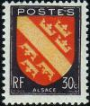 timbre N° 756, Alsace