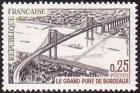 timbre N° 1524, Inauguration du grand pont de Bordeaux