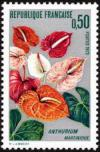 timbre N° 1738, L'Anthurium de la Martinique