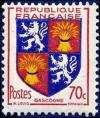 timbre N° 958, Gascogne